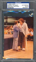 Andre the Giant Signed 3.5x4.75 Photo (PSA Encapsulated) at PristineAuction.com