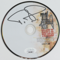 """T.I. Signed """"Trouble Man: Heavy Is the Head"""" CD (JSA COA) (See Description) at PristineAuction.com"""