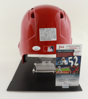 Juan Soto Signed Nationals Authentic Full-Size Batting Helmet With Display Stand (JSA COA) at PristineAuction.com