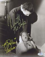 "Nick Castle & P. J. Soles Signed ""Halloween"" 8x10 Photo Inscribed ""The Shape"" & ""Lynda"" (PSA COA) at PristineAuction.com"
