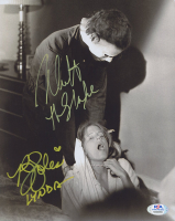 "Nick Castle & P. J. Soles Signed ""Halloween"" 8x10 Photo Inscribed ""The Shape"" & ""Lynda"" (PSA COA) (See Description) at PristineAuction.com"