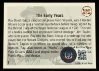 Ray Dandridge Signed 1992 Front Row Dandridge #1 The Early Years (Beckett COA) at PristineAuction.com