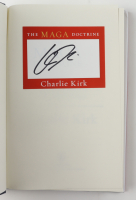 """Charlie Kirk Signed """"The MAGA Doctrine: The Only Ideas That Will Win the Future"""" Hard-Cover Book (Premiere Collectibles COA) at PristineAuction.com"""