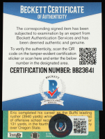 Eric Bieniemy SIgned 1991 Fleer #421 RC (Beckett COA) at PristineAuction.com