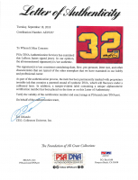 LeBron James Signed Jersey (PSA LOA & UDA Hologram) at PristineAuction.com