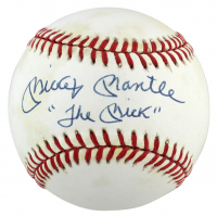 """Mickey Mantle Signed OAL Baseball Inscribed """"The Mick"""" (PSA LOA) at PristineAuction.com"""