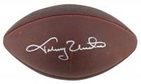 "Johnny Unitas Signed ""The Duke"" Logo NFL Official Game Ball (PSA LOA) at PristineAuction.com"