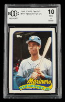 Ken Griffey Jr. 1989 Topps Traded #41T RC (BCCG 10) at PristineAuction.com