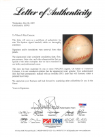 Tris Speaker Signed OAA Baseball (PSA LOA) at PristineAuction.com