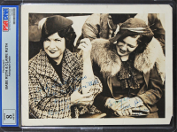 Babe Ruth & Claire Ruth Signed 8x10 Photo (PSA Encapsulated) at PristineAuction.com