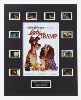 """""""Lady and the Tramp"""" LE 8x10 Custom Matted Original Film / Movie Cell Display at PristineAuction.com"""