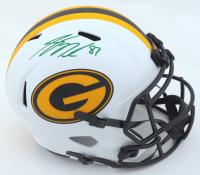 Jordy Nelson Signed Packers Full-Size Lunar Eclipse Alternate Speed Helmet (Beckett Hologram) at PristineAuction.com