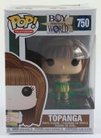 "Danielle Fishel Signed ""Boy Meets World"" #750 Topanga Funko Pop! Vinyl Figure Inscribed ""Always"" & ""Topanga"" (JSA COA) (See Description) at PristineAuction.com"