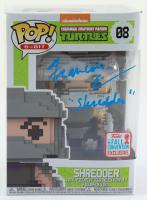 "Francois Chau Signed ""Teenage Mutant Ninja Turtles"" #08 Shredder 8-Bit Funko Pop! Vinyl Figure Inscribed ""Shredder"" (JSA COA) (See Description) at PristineAuction.com"