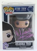 "Marina Sirtis Signed ""Star Trek: The Next Generation"" #193 Deanna Troi Funko Pop! Vinyl Figure (JSA COA) (See Description) at PristineAuction.com"