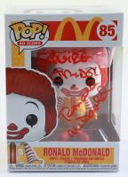 "Squire Fridell Signed McDonalds #85 Ronald McDonald Funko Pop! Vinyl Figure Inscribed ""Ronald McDonald"" (JSA COA) (See Description) at PristineAuction.com"