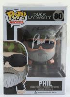 "Phil Robertson Signed ""Duck Dynasty"" #80 Phil Funko Pop! Vinyl Figure (JSA COA) (See Description) at PristineAuction.com"