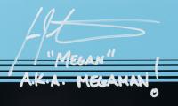 """Ian James Corlett Signed """"Mega Man"""" 11x14 Photo Inscribed """"MEGAN"""" & """"A.K.A. MEGAMAN!"""" (JSA COA) at PristineAuction.com"""