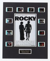 """""""Rocky"""" LE 8x10 Custom Matted Original Film / Movie Cell Display at PristineAuction.com"""