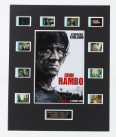 """""""John Rambo"""" LE 8x10 Custom Matted Original Film / Movie Cell Display at PristineAuction.com"""