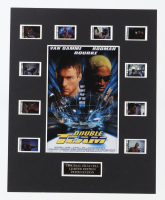 """""""Double Team"""" LE 8x10 Custom Matted Original Film / Movie Cell Display at PristineAuction.com"""