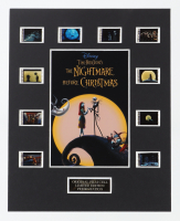"""""""The Nightmare Before Christmas"""" LE 8x10 Custom Matted Original Film / Movie Cell Display at PristineAuction.com"""