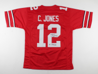 """Cardale Jones Signed Jersey Inscribed """"14 Champs"""" (JSA COA) at PristineAuction.com"""