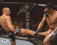 Georges St-Pierre Signed UFC 8x10 Photo (PSA COA) at PristineAuction.com