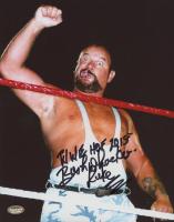 "Bushwacker Luke Signed WWE 8x10 Photo Inscribed ""WWE HOF 2015"" (Schwartz COA) at PristineAuction.com"