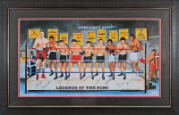Legends of the Ring LE 20x33 Lithograph Signed by (10) with Muhammad Ali, Joey Giardello, Emile Griffith, Carmen Basillo (JSA LOA & PSA LOA) at PristineAuction.com