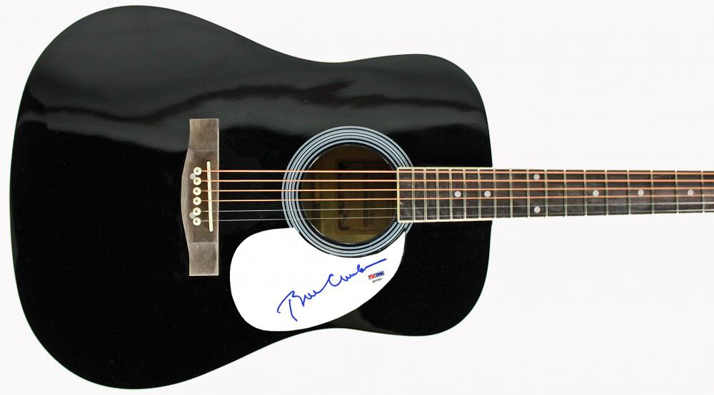 "Bill Clinton Signed 38"" Acoustic Guitar (PSA Hologram) at PristineAuction.com"