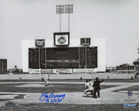 """Jim Bunning Signed Phillies 8x10 Photo Inscribed """"P6 6/21/64"""" (Schwartz Sports COA) at PristineAuction.com"""