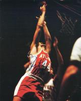 Pete Maravich Signed Hawks 8x11 Photo (PSA LOA) at PristineAuction.com