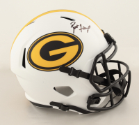 Brett Favre Signed Packers Full-Size Lunar Eclipse Alternate Speed Helmet (Schwartz Sports COA & Favre Hologram) (See Description) at PristineAuction.com