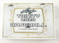 2020 Leaf Trinity Baseball Hobby Box with (1) Pack at PristineAuction.com
