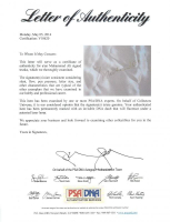 Muhammad Ali Signed Everlast Boxing Trunks (PSA LOA) at PristineAuction.com