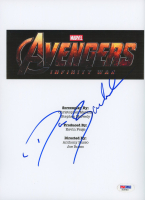 """Dave Bautista Signed """"Avengers: Infinity War"""" 8.5x11 Photo (PSA Hologram) at PristineAuction.com"""