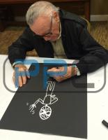 Stan Lee Signed 16x20 Spider-Man Sketch on Canvas (PSA LOA & Lee Hologram) at PristineAuction.com