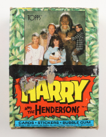"""1987 Topps """"Harry And The Hendersons"""" Card Box with (36) Packs at PristineAuction.com"""