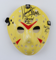"""Warrington Gillette Signed """"Friday the 13th"""" Mask Inscribed """"Jason II"""" & """"First Jason To Kill"""" (Legends COA) (See Description) at PristineAuction.com"""