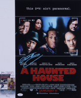 """Cedric The Entertainer Signed """"A Haunted House"""" 12x18 Photo (JSA COA) (See Description) at PristineAuction.com"""