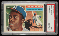 Hank Aaron 1956 Topps #31 (PSA 5) at PristineAuction.com