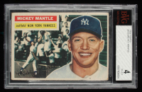 Mickey Mantle 1956 Topps #135 (BVG 4) at PristineAuction.com