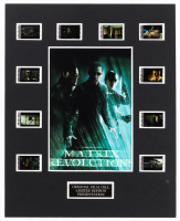 """""""The Matrix Revolutions"""" LE 8x10 Custom Matted Original Film / Movie Cell Display at PristineAuction.com"""