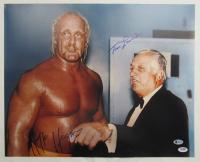 Hulk Hogan & Tommy Lasorda Signed 16x20 Photo (Beckett Hologram & PSA Hologram) at PristineAuction.com