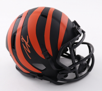 Tee Higgins Signed Bengals Eclipse Alternate Speed Mini Helmet (JSA COA) at PristineAuction.com