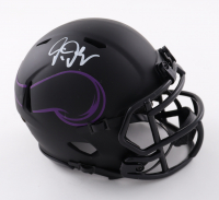Justin Jefferson Signed Vikings Eclipse Alternate Speed Mini Helmet (JSA COA) at PristineAuction.com