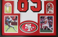 George Kittle Signed 34x42 Custom Framed Jersey Display (Beckett COA) at PristineAuction.com