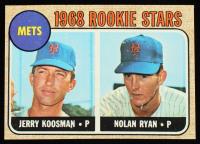 Jerry Koosman / Nolan Ryan 1968 Topps #177 Rookie Stars RC at PristineAuction.com