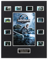 """""""Jurassic World"""" LE 8x10 Custom Matted Original Film / Movie Cell Display at PristineAuction.com"""